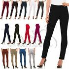 Womens Straight Leg Dress Pants - Stretch Slim Fit Pull On S