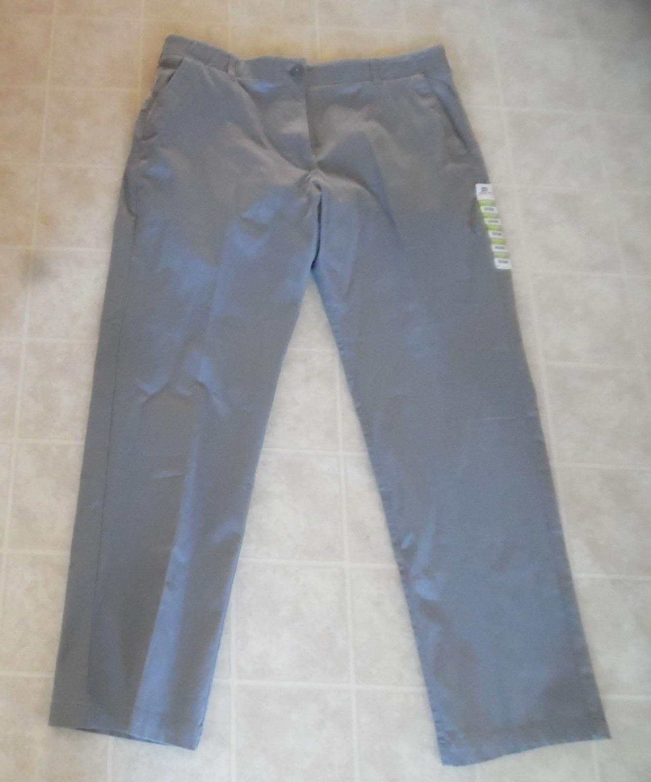 Lee X-Treme Comfort Men's Gray Casual Pants Size 38 X 32