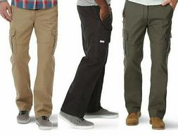 Mens Wrangler Relaxed Fit Cargo Pant with Stretch