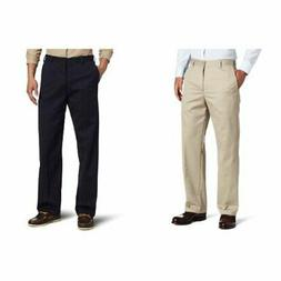 IZOD Men's American Chino Flat Front Straight Fit  - Choose