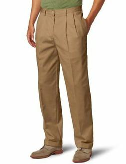 IZOD Men's American Chino Pleated Pant - Choose SZ/color