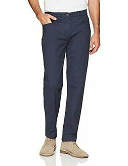Goodthreads Men's Athletic-Fit 5-Pocket Chino Pant, Navy,, N