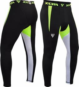 RDX Men's Base Layer Compression Pants Fitness Training Appa