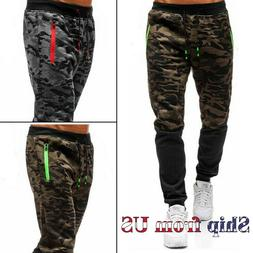 Men's Casual Joggers Pants Sweatpants Cargo Combat Active Sp