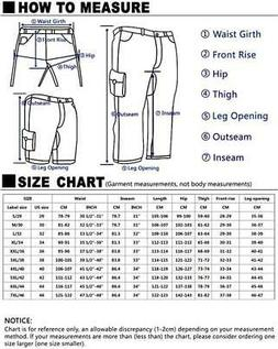Match Men's Casual Wild Cargo Pants Outdoors Work Wear, 6531