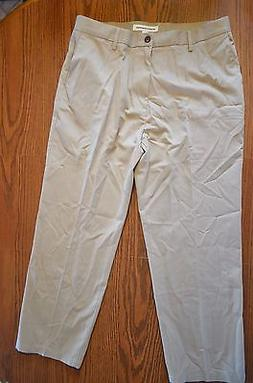 Men's Amazon Essentials Classic Fit Khaki Pants Size 36W 29L