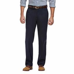 Haggar Men's Classic Fit Non Iron Wrinkle Free Hidden Comfor