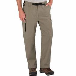BC Clothing Men's Convertible Stretch Cargo Hiking Pants - S