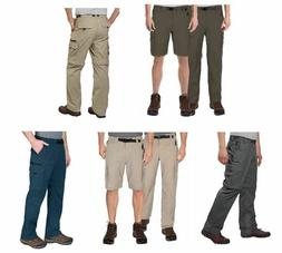 BC Clothing Men's Convertible Stretch Cargo Hiking Pants Sho