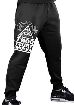 Men's Don't Trust Anyone Jogger Training Pants Sweatpants Il