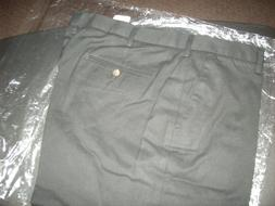 "AMAZON ESSENTIALS MEN'S DRESS PANTS BLACK SIZE 40"" x 30"" BRA"