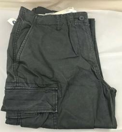Men's Gray Old Navy Lived-In Built-In Flex Straight Cargo Pa