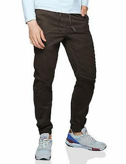 Match Men's Loose Fit Chino Washed Jogger Pant (34, 6058, 60