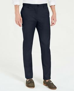 Calvin Klein Men's Refined Stretch Slim Fit Chinos Pants Sal