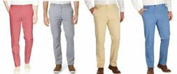 IZOD Men's Saltwater Stretch Chino Pants Color Tan, Blue or