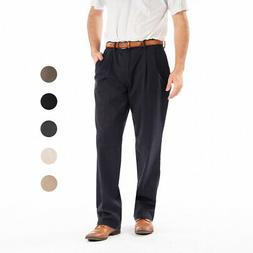Dockers Men's Signature Pleated Classic Fit Pants