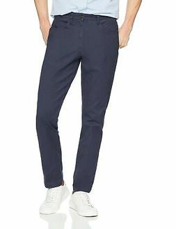 Goodthreads Men's Slim-Fit 5-Pocket Chino Pant Navy 32W x 29