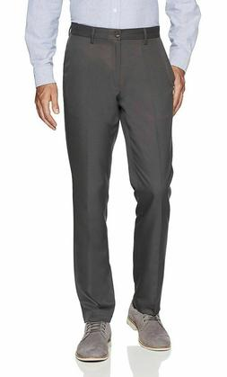 Amazon Essentials Men's Slim-Fit Flat-Front Dress Pants.  Da