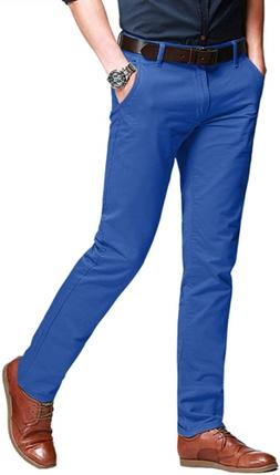 Match Men's Slim Fit Tapered Stretchy Casual Pants 29W x 31L