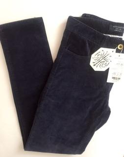 Match Men's Slim-Tapered Flat Front Casual Corduroy Sapphire