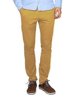 Match Men's Slim Tapered Stretchy Casual Pant 30, 8115 Khaki