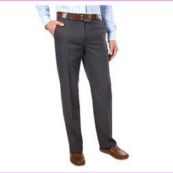 Men's Straight Fit Flat Front Chino Pants
