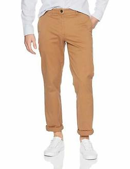 men s straight fit washed chino pant
