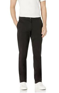 Goodthreads Men's Straight-Fit Washed Comfort Stretch Chino