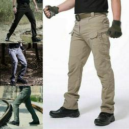 Men's Tactical Trousers Combat Outdoor Windproof Hiking Mili