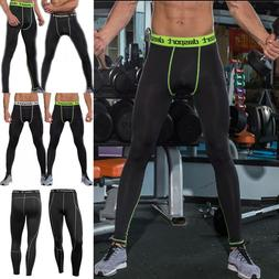 Men's Track Pants Gym Training Sweatpants Zipper Pocket Jogg