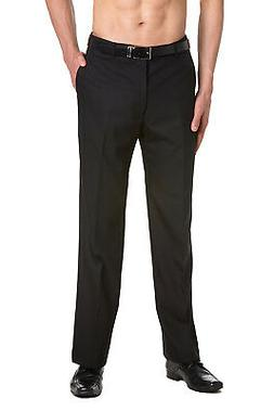 CONCITOR Men's TUXEDO Pants Flat Front with Satin Band Solid