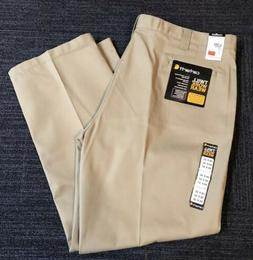 Carhartt Men's Twill Khaki Work Pants Chino Relaxed Fit Big
