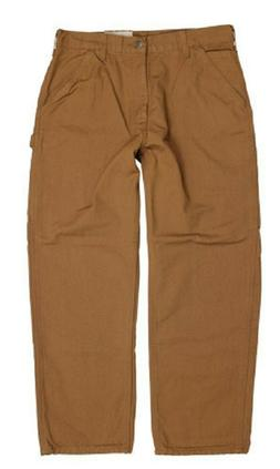 Carhartt Men's Washed Duck Work Dungaree Pant Carhartt Brown