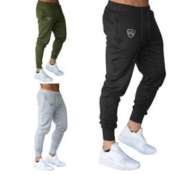 men slim fit tracksuit sport pants gym
