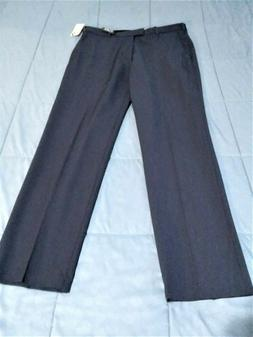 Mens VAN HEUSEN 33 x 32  Dusty Blue Flex Stretch Dress Pants