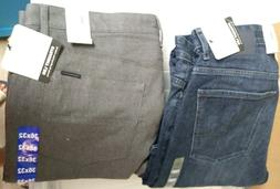mens 5 pocket straight leg pants new
