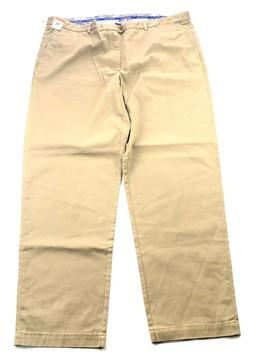 Tommy Bahama Mens Bedford and Sons Flat Front Pants Khaki 46