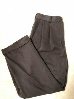 Mens Brown Van Heusen Dress Pants 33x30