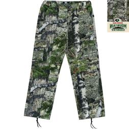Mens Cargo Pants Mossy Oak® Camouflage Mountain Country Var