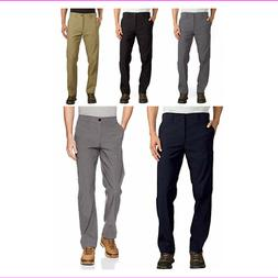 UB Tech Mens Classic Fit Comfort Waist Stretch Chino Travel