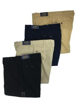 Polo Ralph Lauren Mens Classic Fit Flat Front Chino Big and