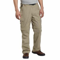 NEW Men's BC Clothing Hiking Convertible Cargo Stretch Pants