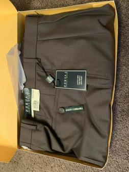 Mens Dress Pants Ralph Lauren 38x30. Olive Color. 100% Wool