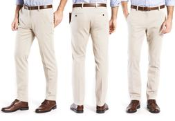 Dockers Mens Easy Khaki Slim Tapered Fit Khaki Stretch Pants