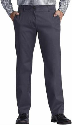 Lee Mens Extreme Comfort Straight Fit Pants Charcoal Gray Ch