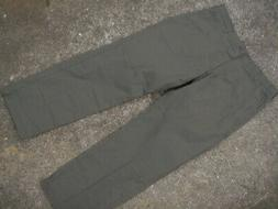mens LEE extreme comfort stretch army green pants size XL w