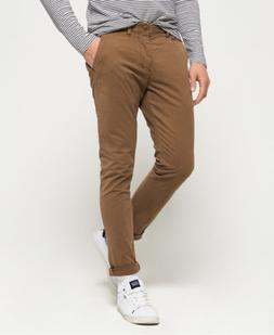 Mens Superdry International Chino Lite Pants Oakwood