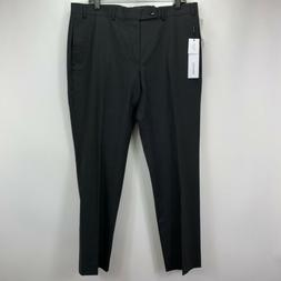 Calvin Klein Mens Jerry Slim Fit Stretch Pants Black 36x30