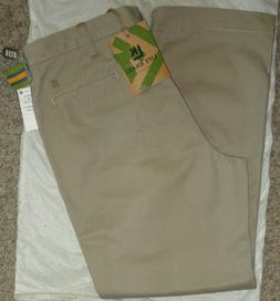 HAGGAR Mens LIFE KHAKIS RELAXED-FIT STRAIGHT-LEG~Size 38 X 3