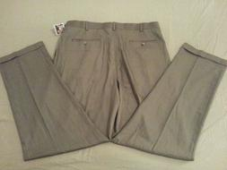 Mens New Roundtree & Yorke Pants Big Tall 40x34 Cotton Slack